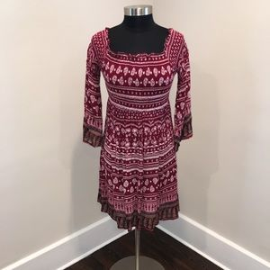 NWT Lucky Brand Plus Size Stretch Blouse/Tunic 1X!
